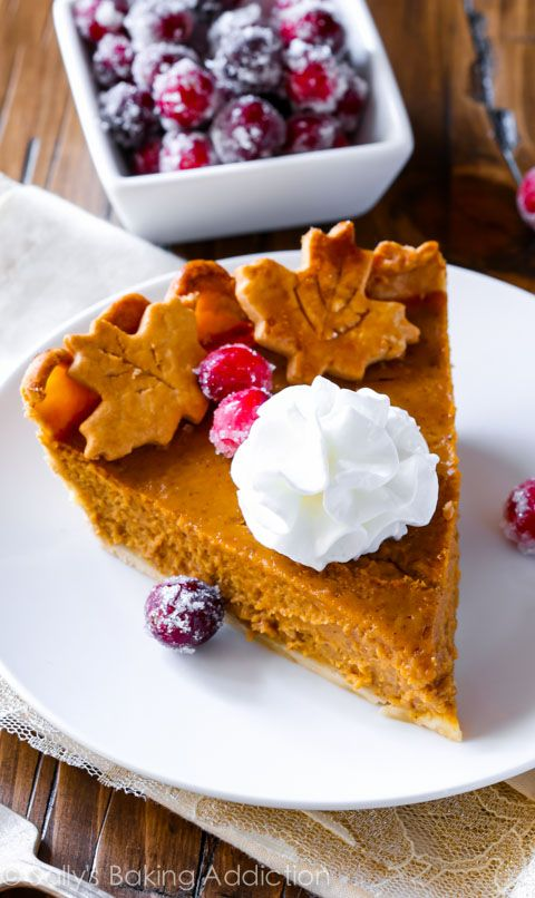 The Great Pumpkin Pie Recipe. This recipe bursts with bright pumpkin flavor and the secret ingredient puts it over the TOP!