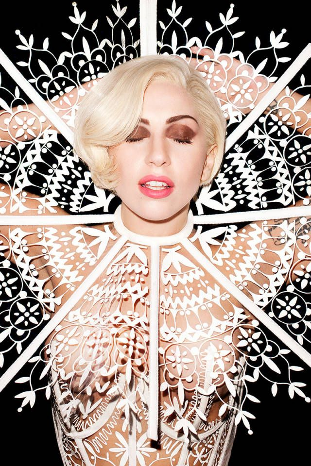 Lady Gaga's March Cover Shoot