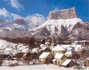 Hiver à Chichilianne Isere Au Gai Soliel du Mont Aiguille France