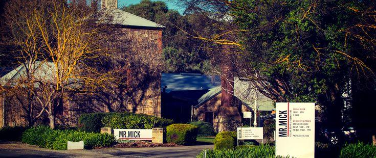 Mr. Mick Cellar Door & Kitchen -  Clare Valley Winery, South Australia