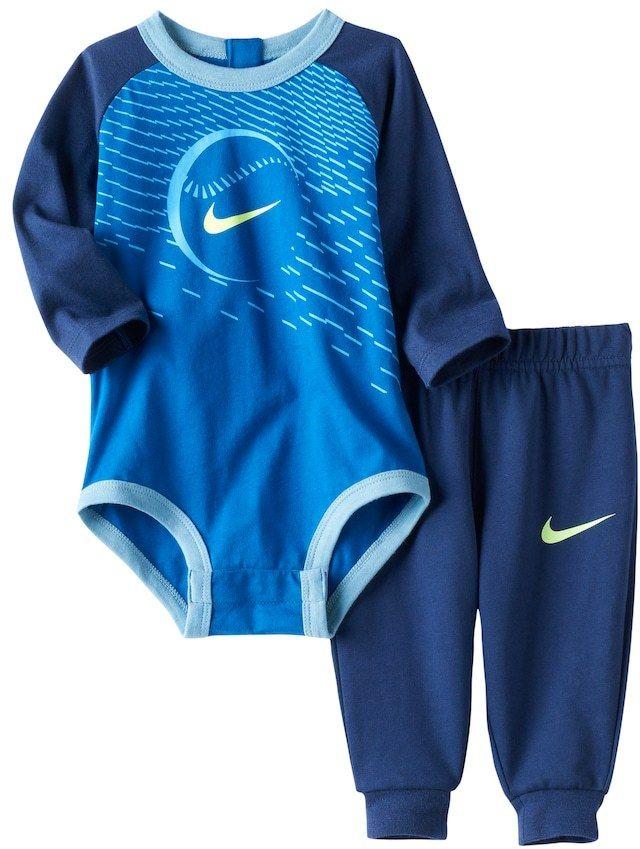 307ae11fd1 Nike Baby Boy Nike Sports Bodysuit & Pants Set #shopstyle #babyboy #boymom # nike
