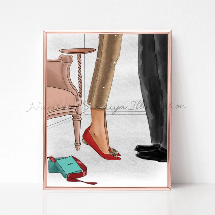 Excited to share the latest addition to my #etsy shop: Magical moments. Christmas gift/Tiffany's (Fashion Illustration art print) #art #drawing #collectibles #prints #artprint #illustration #fashionillustration #fashiongirl #digitalart