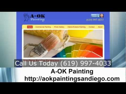 Local Painter San Diego Painter Brian Hetz A-OK Painting Call (619) 997-4033