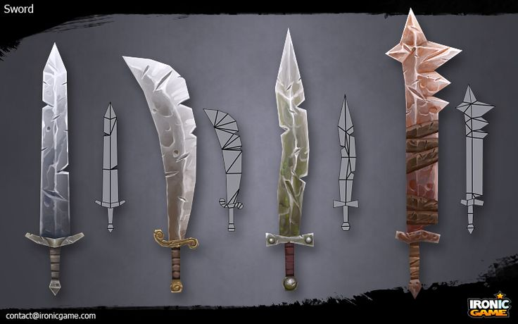 Low Poly Sword