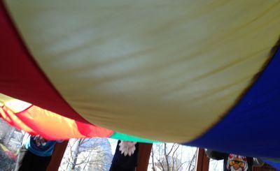 Das Schwungtuch erleben mit Kindern: Erste Schwungtucherfahrungen mit Kindern sollte man genau einführen. Das erleichtert beim späteren Spielen eine Menge. So ist es wichtig vor allem das ruhige Schwingen zu üben, da die Kinder oft viel zu schnell arbeiten. Material: Schwungtuch Alter: ab 3 Jahre Vorbereitung: Alle Kinder stehen um das Tuch herum. Spielidee: Die…