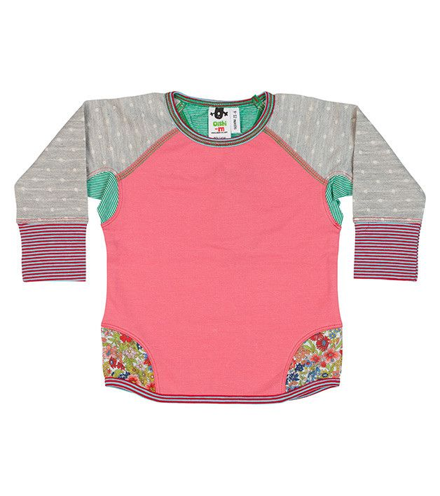 Lilu Crew Jumper, Oishi-m Clothing for Kids, Spring 2014, www.oishi-m.com