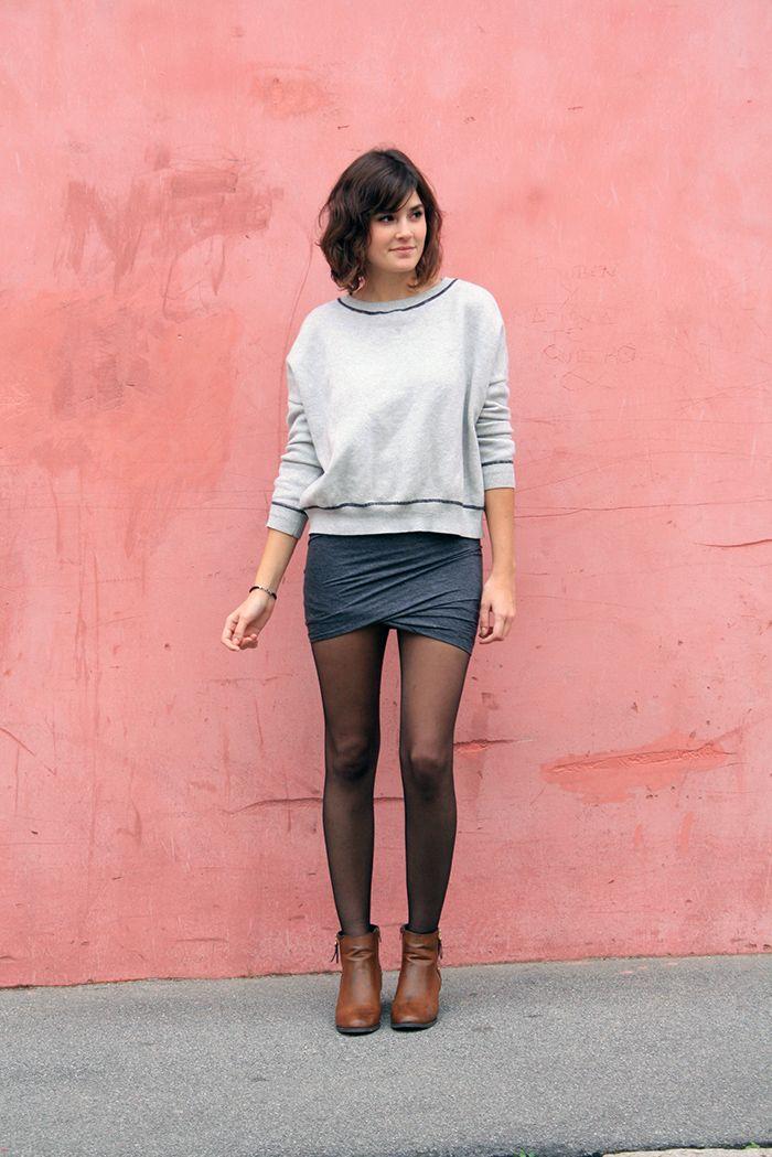 La jupe drapée ^^
