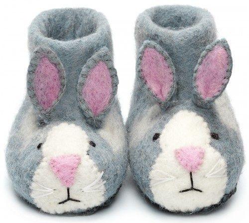 Sew Heart Felt kindersloffen konijn
