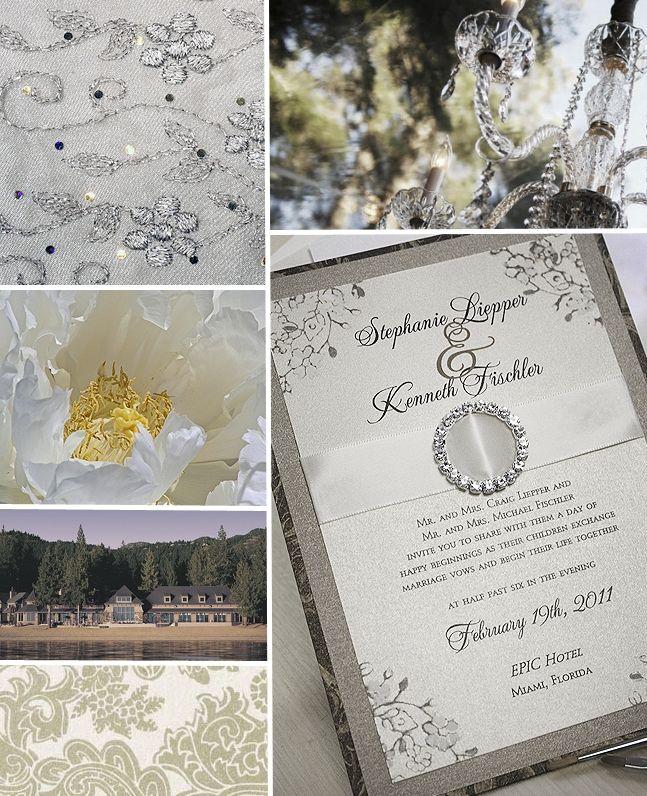 Bling Wedding Invitations | Rhinestone Wedding Invitation | Momental  Designs U2013 Unique Handmade .