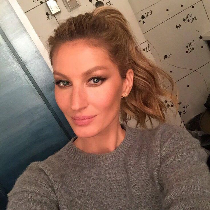 "Gisele selfie prior to her appearance on the ""The Tonight Show Starring Jimmy Fallon"" April 27th, 2016"