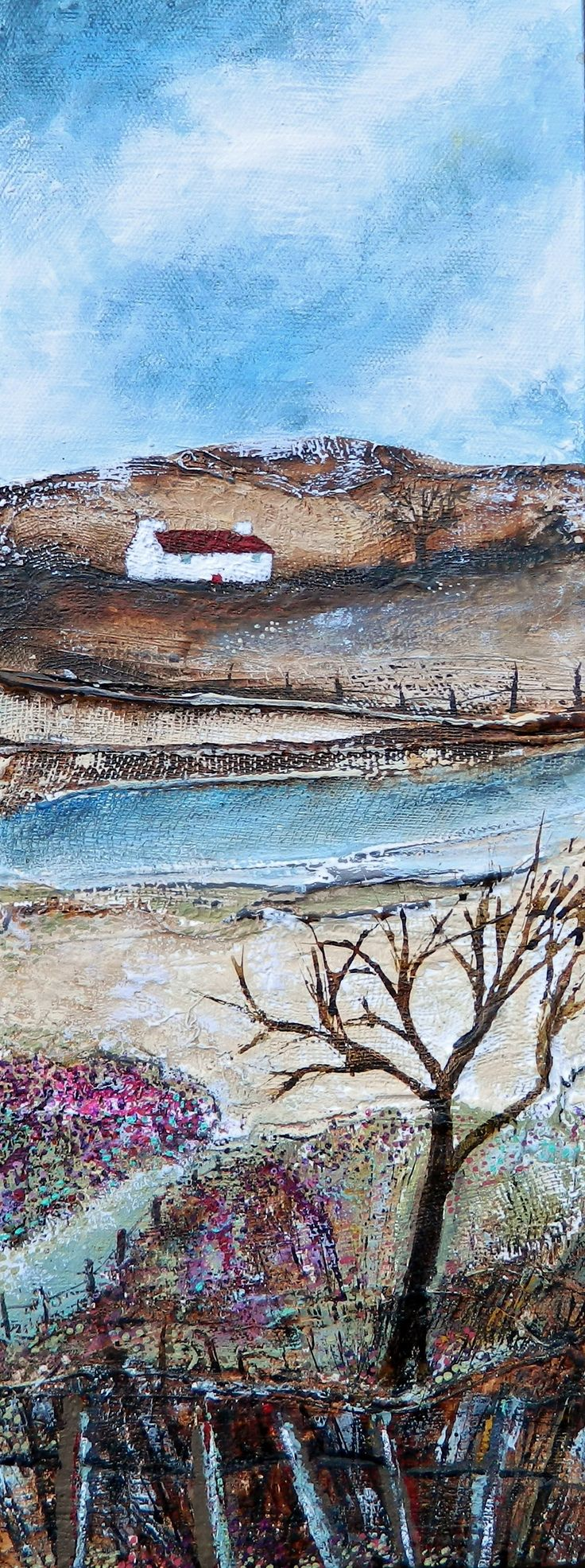 ''The Path along the picket fence'' by Louise O'Hara