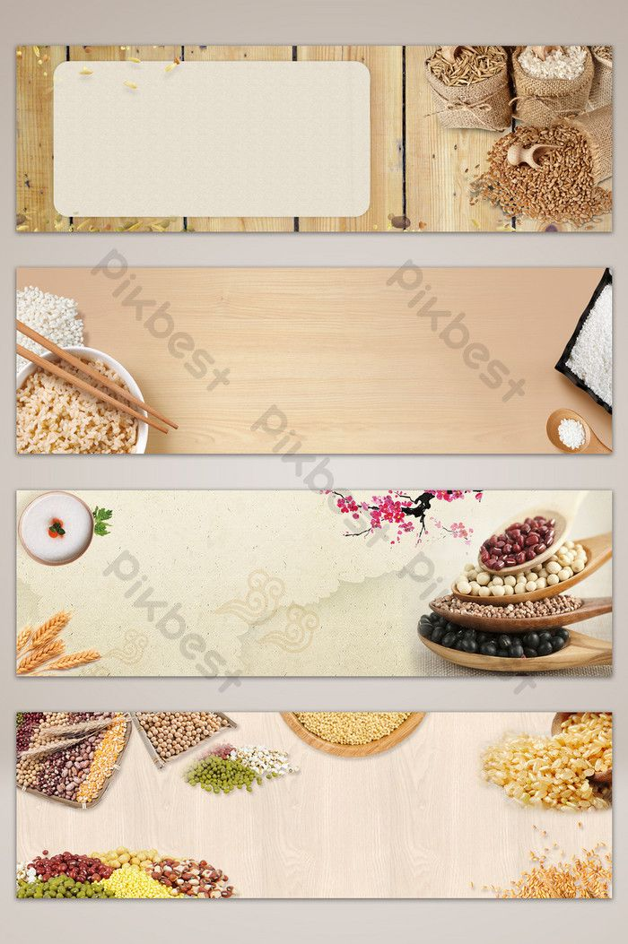 Food Grains Poster Banner Background Backgrounds Psd Free Download Pikbest Food Banner Grain Foods Food Backgrounds
