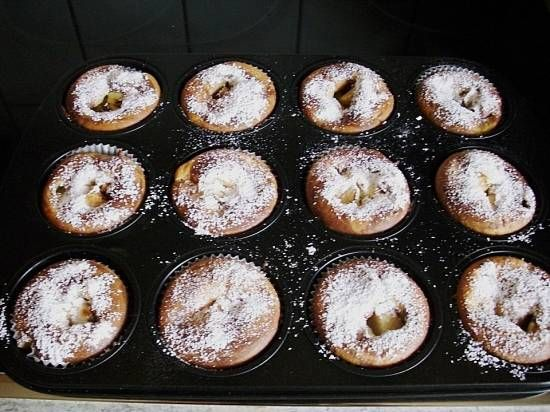 Herfst: Romige Appel Muffins Met Een Bite recept   Smulweb.nl