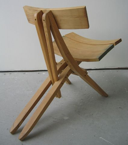 Wood design chair
