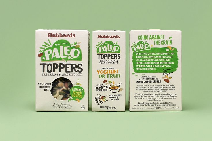 New packaging for Hubbards Toppers by Coats Design, New Zealand. #packaging #design #lettering