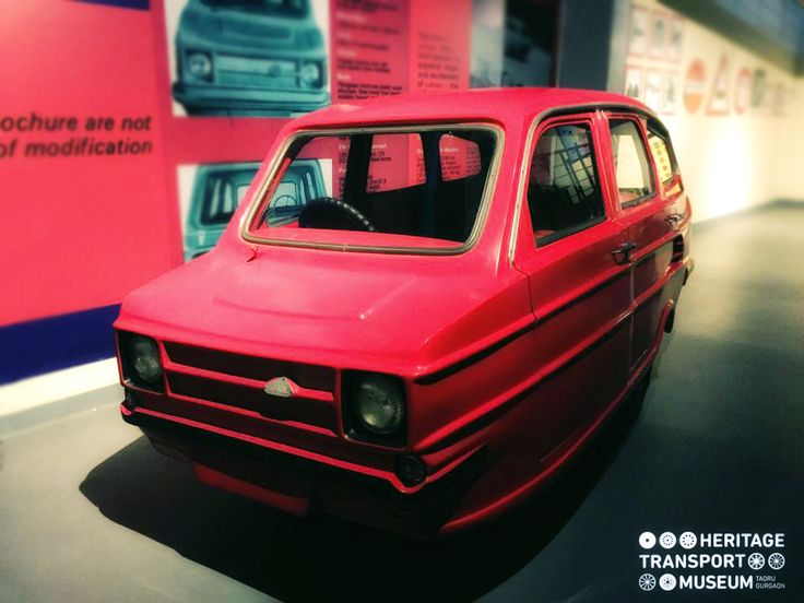 Badal - the first product of Sunrise, a mini car based on Reliant Robin a British 3 wheeled car!   #DoYouKnow #VintageCars #Heritage #TransportMuseum #Museum #VintageStyle #Exhibit #IncredibleIndia #Explore #VintageCollection