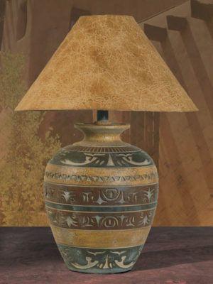 H 6023 Hsl Southwest Style Table Lamp Southwest Decor Pinterest