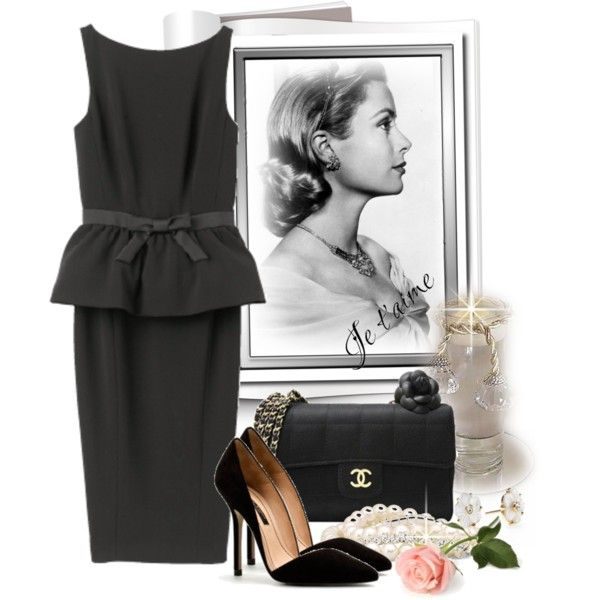 Грейс Келли, created by sanremo on Polyvore