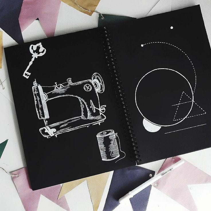 art minimal blackpaper abstract