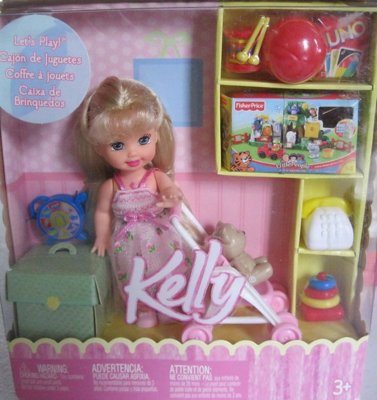 Let S Play Kelly 174 Doll Barbie Kelly And Friends