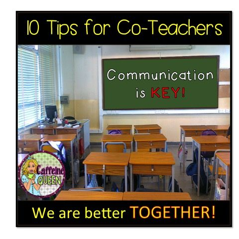 10 Terrific Co Teaching Tips