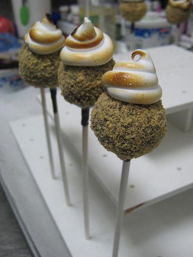 smores: Smore Cakes Pop, Cakepops Truffle, Cakepops Truffles, Cupcakes Balls Pop, Cakes Pops Yummy, Cake Pop, Smore Cakepops, Cakes Pop Yummy, Smore Oooooo