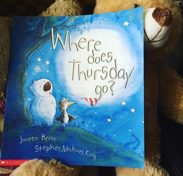 Picture Books for Reluctant Readers: Book Review: Where Does Thursday Go? by Janeen Brian and Stephen Michael King