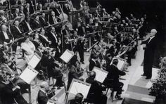 """A legendary recording of Ludwig van Beethoven's Symphony No 9 in D minor, Op 125, """"Choral"""": Bayreuth Festival Orchestra conducted by Wilhelm Furtwängler."""