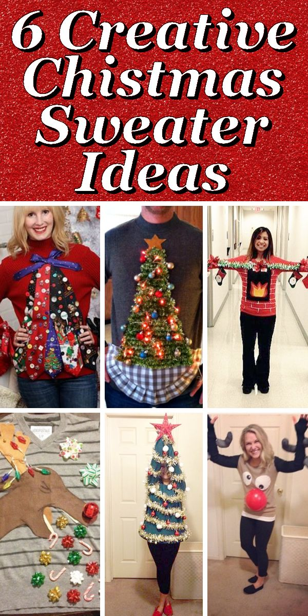149 best images about christmas jumper ideas on pinterest for Ugly christmas sweater ideas make your own