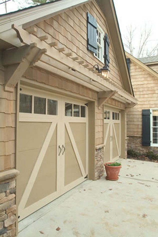 Garage Trellis Dream House Pinterest