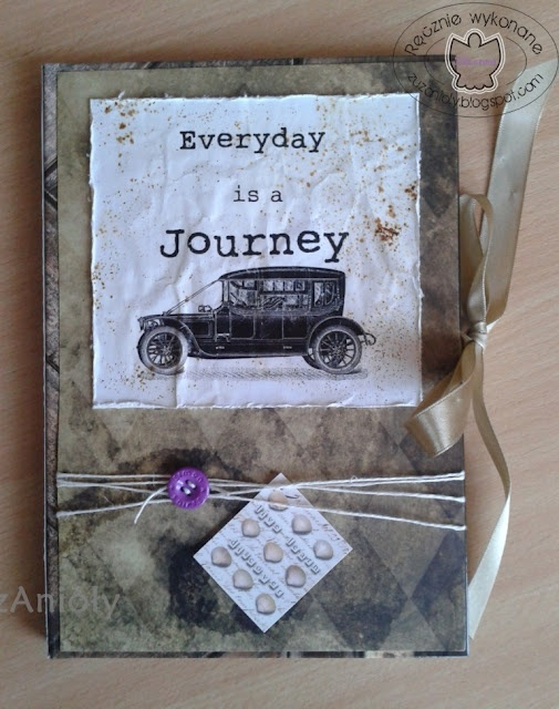Fantastic vintage-inspired journal.