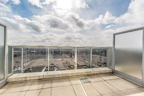 Loggia 1 | 1040 The Queensway | View from penthouse | South Facing | 1+1 BR