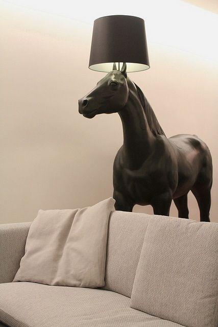 This Lamp is amazing! ~Sarah    horse lamp marcel wanders