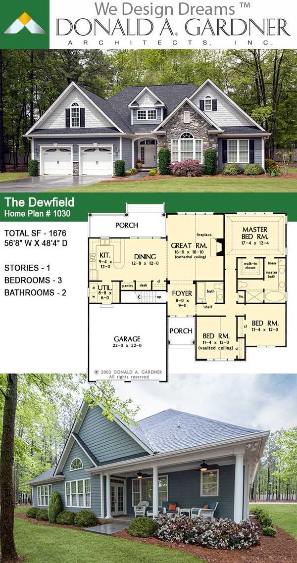 The Dewfield Small Craftsman House Plan In 2020 Craftsman House Plans Small Craftsman House Plans Craftsman House