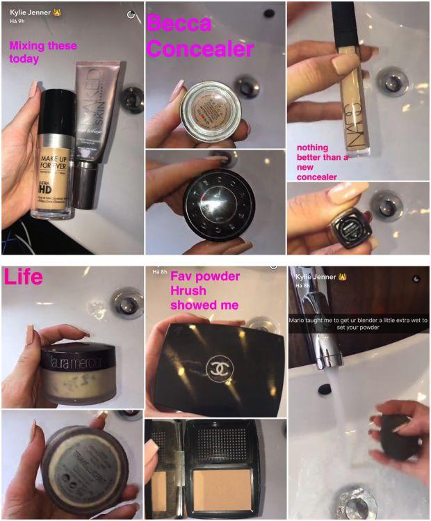 Tutorial de maquiagem da Kylie Jenner - Fashionismo
