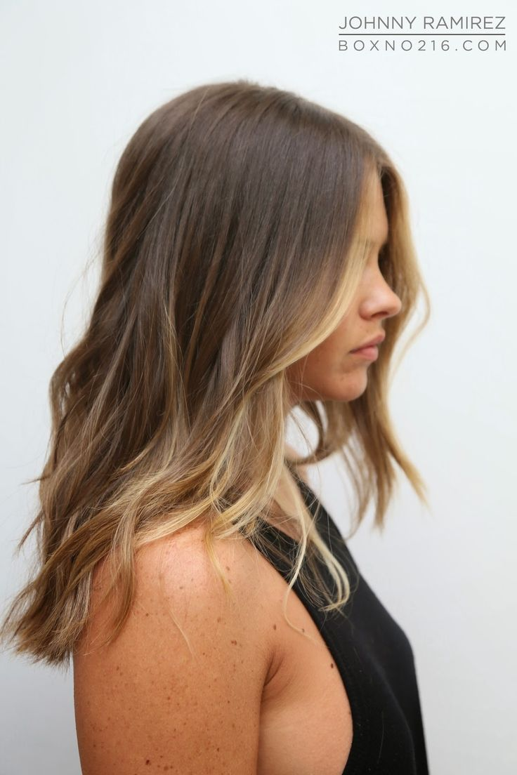 Long Highlighted Hairstyles Fade Haircut