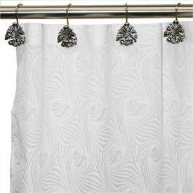 78 Inch Long Shower Curtain Fabric | Extra Long Shower Curtains   Long  Fabric Shower Curtains