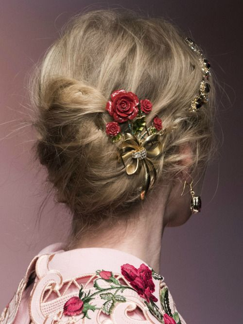 Dolce&Gabbana Fall 2015 Details