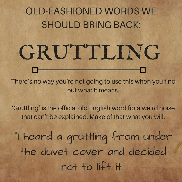 9 old-fashioned words we need to bring back! #writing #words