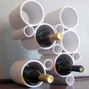 Art DYI Wine Rack for-our-home