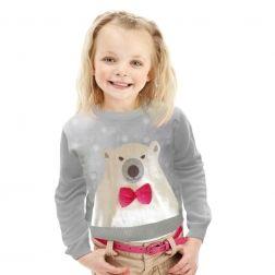 #NOWOŚĆ w naszej kolekcji #Misiek, sliczny sweterek dla każdej małej damy i każdego małego dżentelmena http://swetryswiateczne.pl/pl/