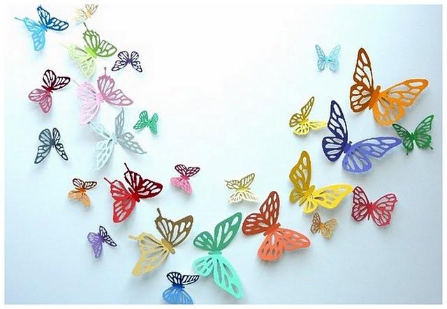 Wedding butterflies