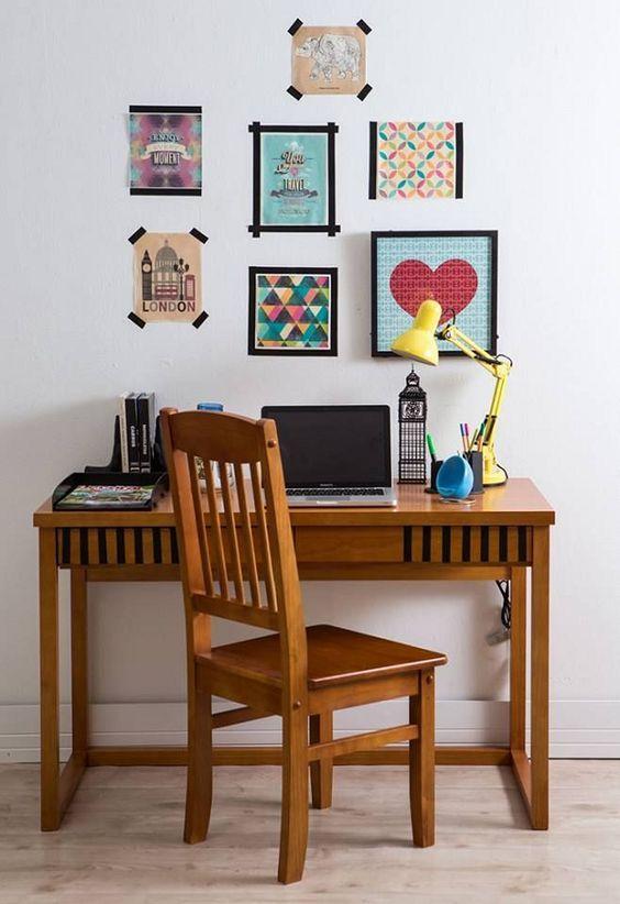 Fita isolante: da caixa de ferramentas direto para a sua decoração                                                                                                                                                                                 Mais