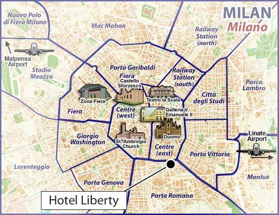 #Map #Milano #Italy
