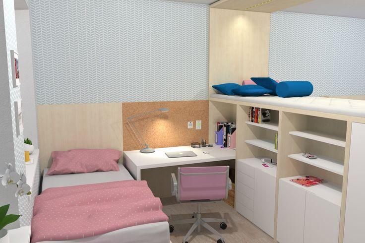 očkodesign - dětský pokoj pro dívku a chlapce - zábřeh (designový dětský...