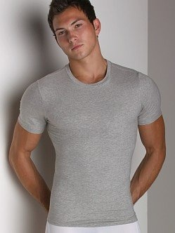 Cotton Compression Crew Neck T-Shirt $54.00 - $58.00