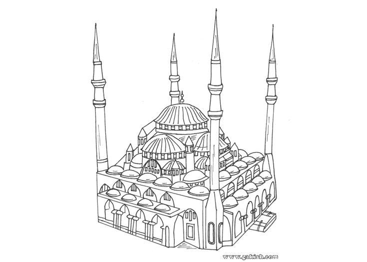 Les 154 meilleures images du tableau images coloriages sur - Coloriage alphabet arabe ...