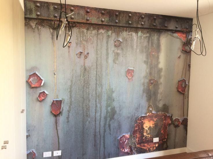 Rustic mural