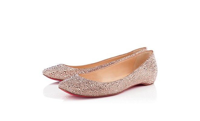 GOZUL STRASS, STRASS, nude, ballerinas, womens shoes