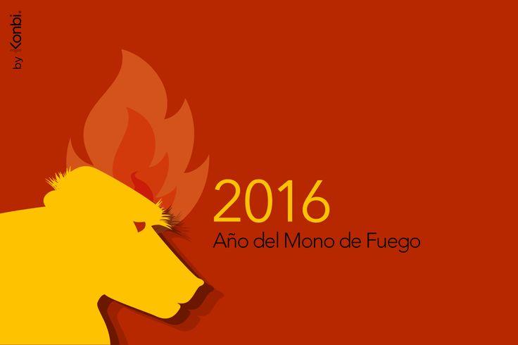 2016 - Año del Mono de Fuego: Horóscopo 2016 de los 12 signos del zodiaco chino por Karma Weather http://www.karmaweather.com/espanol/2016-ano-del-mono/ #Horóscopo